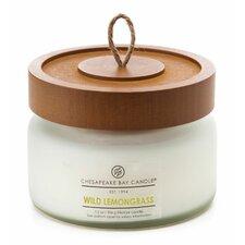 Heritage Wild Lemongrass Glass Jar Candle