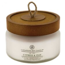 Heritage Cypress and Oak Glass Jar Candle