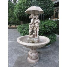 The Kissing Resin Fountain
