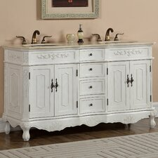 Milan 60 Double Bathroom Vanity Set by Durian, Inc.