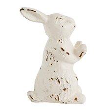 Botanist Cast Iron Rabbit Door Stopper