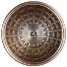 Pantheon Circular Vessel Bathroom Sink by Linkasink