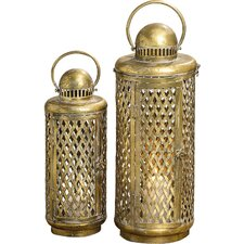 Olio 2-Piece Lantern Set