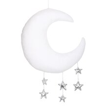 Moon and Star Ceiling Mobile by The Peanut Shell
