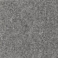 "Cutler 24"" x 24"" Carpet Tile in Silvery Nickel"