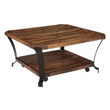 Brook Square Coffee Table with Magazine Rack by Trent Austin Design