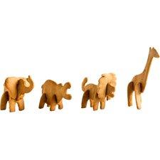 Plätzchenstempel-Set 3D Safari