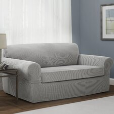 Connor 2 Piece Stretch Polyester Sofa Slipcover Set