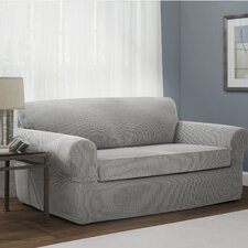 Connor Stretch Polyester Loveseat Slipcover