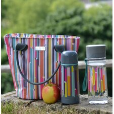 Linear Insulated Picnic Tote Bag