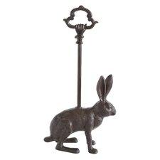 Bungalow Lane Cast Iron Rabbit Door Stopper