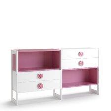 Pamplona 88cm Book Cabinet