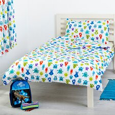 Monsters 2 Piece Cot Bedding Set