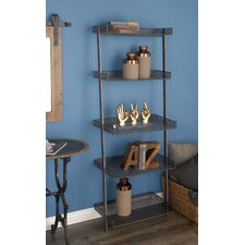 Metal 62 Leaning Bookcase by Cole & Grey