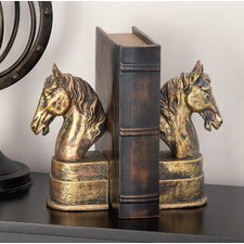 Heather Horse Book Ends