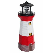 LED-Solarleuchte Leuchtturm