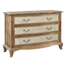 Pamlico 3 Drawer Accent Chest by Furniture Classics LTD
