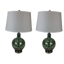 "Mercury Glass 29"" Table Lamps (Set of 2)"