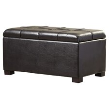 Sutton Double Tray Storage Ottoman by Three Posts