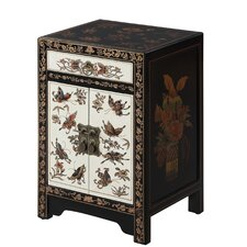 Raiden 1 Drawer End Table by World Menagerie