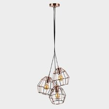 Angus 3-Light LED Cluster Pendant