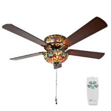 """52"""" 5-Blade Ceiling Fan with Remote"""