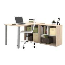 Luther Storage Unit L-Shape Computer Desk