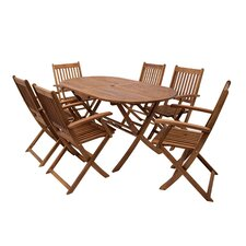 6-Sitzer Gartengarnitur Pistache
