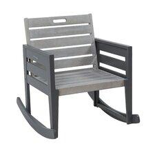 Osier Grigio Rocking Chair with Cushion