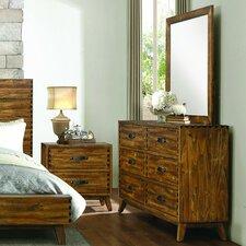 Decamp 6 Drawer Dresser with Mirror by Brayden Studio®