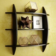 Bermondsey 3 Tier Half Moon Wall Shelf by Brayden Studio