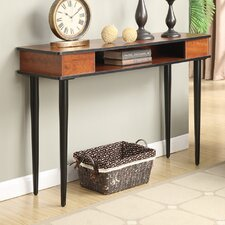 Abbottsmoor Brown Console Table by Andover Mills