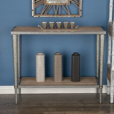 Metal/Wood Console Table by Cole & Grey