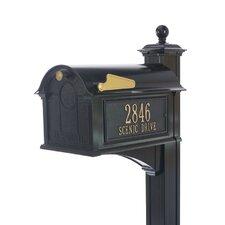 Balmoral Post Mounted Mailbox