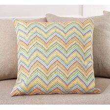 Chevron Zig Zag Indoor/Outdoor Throw Pillow