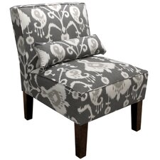 Banker Ikat Slipper Chair by Mercury Row