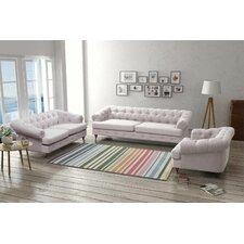 Washington 3 Seater Sofa, Loveseat and Armchair Set