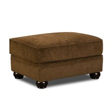 Simmons Upholstery Channahon Ottoman by Andover Mills