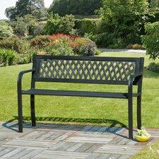 Lattice Back Garden Bench
