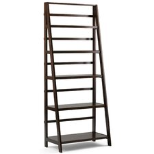 "Acadian 72"" Leaning Bookcase"