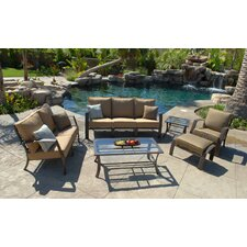 Escape 6 Piece Deep Seating Group with Cushions by Koverton