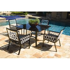 Parkview Cast 5 Piece Dining Set by Koverton