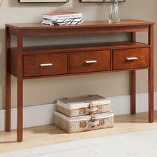 Bristol Wood Drawer Console Table by Red Barrel Studio