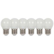 6-tlg. LED-Set E27 40W Matt
