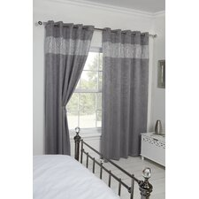 Diandra Eyelet Blackout Curtain Panel (Set of 2)