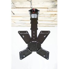 "Electric Motorized Flip Down Pitched Roof Tilt Ceiling Mount for 23""-55"" LCD"