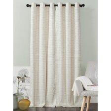 Jacana Solid Blackout Grommet Curtain Panels (Set of 2)