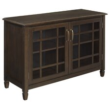 Connaught 2 Door Low Storage Cabinet by Simpli Home
