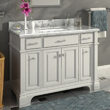 Nova 48 Single Sink Bathroom Vanity Set by Lanza