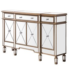 Contempo 3 Drawer 4 Door Accent Cabinet by Elegant Lighting